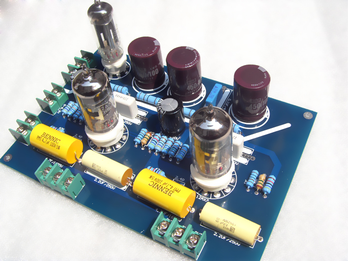 Quad 22 HIFI Tube Preamplifier 12AX7 PREAMP KIT Board on PopScreen